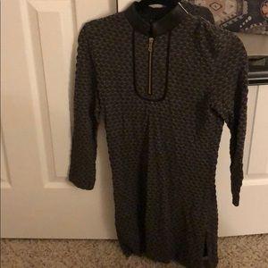 Etcetera zipper dress